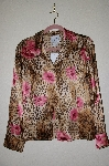 "MBADG #5-202  ""Pamela McCoy Fancy Floral Silk Top"""