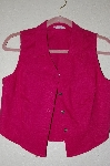 "MBADG #5-273  ""Caliente Dark Pink Vest Top"""