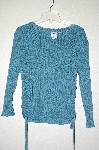 "MBADG #9-028  ""Ellemenno Green Fancy Knit Sweater"""