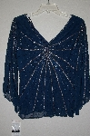 "MBADG #9-098  ""Papell Studio Fancy Silk Hand Beaded Top"""