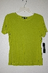 "MBADG #9-108  ""Isabella DeMarco Relish Green Top"""