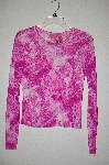 "MBADG #9-167  ""Thalia Pink Sheer Sequin Embelished Top"""