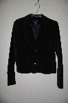 "**MBADG #9-262  ""Calvin Klien Jeans Fancy Black Corduroy Fully Lined Blazer"""
