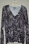 "MBADG #9-235  ""Pamela McCoy Fancy Black Butterfly Embelished Sweater"""