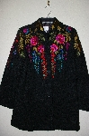 "**MBADG #9-247  ""Linea Floral Embroidered Topper Jacket"""