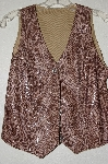 "MBADG #18-081  ""Banjo Dallas Texas Fancy Snake Skin Pattern Vest"""