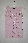 "MBADG #18-180  ""Radzoli Fancy Pink Beaded Shell"
