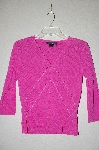 "*MBADG #18-206  ""C'est City Pink One Of A Kind Hand Beaded Cardigan"""