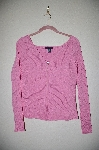 "MBADG #18-316  ""Boston Proper Fancy Pink Knit Zipper Front Top"""