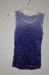 "MBADG #18-254  ""Susan Collection Two Tone Purple  Chenille Shell"""