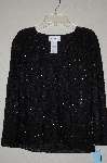 "MBADG #52-345  ""Chadwicks Fancy Black Beaded Top"""