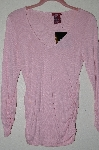 "MBADG #52-283  ""Jordache True Pink Ruched Top"""
