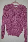"MBADG #52-217  ""British Vogue 1980's One Of A Kind Fancy Hand Beaded Sweater"""