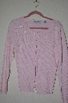 "MBADG #52-197  ""Marisa Christina Pink Fancy Pearl Embelished Sweater"""