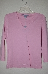 "MBADG #52-158  ""Carroll Reed Pink Stretch V-Neck Top"""