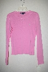 "MBADG #52-099  ""Ralph Lauren Sport Pink Stretch Long Sleve T"""