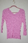 "MBADG #52-078  ""Chadwicks Pink Stretch Knit Sweater"""