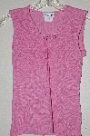 "MBADG #52-482  ""A. Byer Fancy Pink Knit Tank"""