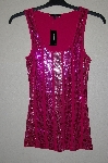 "MBADG #31-023  ""Express Fancy Pink Sequined Tank"""