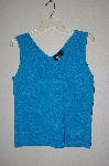 "MBADG #31-180  ""Essential G Blue Knit Tank"""