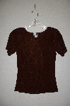 "MBADG #31-224  ""Fina-Fina Brown Knit T"""
