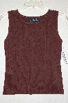 "MBADG #31-230  ""J.A.C. Brown Fancy Knit Tank"""