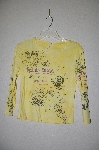 "MBADG #31-288  ""Susan Lawrence Fancy Yellow T With Rhinestones"""