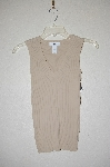 "MBADG #31-268  ""A Byer Fancy Tan Knit Tank"""