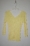"MBADG #31-328  ""Chadwicks Fancy Yellow Knit Sweater"""