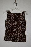 "MBADG #31-382  ""Timing Fancy Animal Print Velvet Tank"""