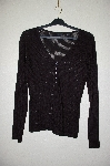 "MBADG #31-436  ""Moda International Fancy Black Knit Sweater"""