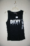 "MBADG #3-087  ""DKNY Jeans Black Stretch Tank"""