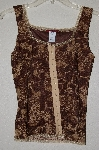 "MBADG #28-450  ""Silvergate Fancy Brown Lace Tank"""