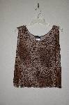 "MBADG #28-475  ""Citiknits Animal Print Tank"""