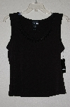 "MBADG #11-158  ""Baranda Petites Embelished Black Stretch Tank"""