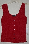 "MBADG #55-177  ""J.A.C. Red Knit Top"""