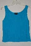 "MBADG #55-005  ""Taryn Gray Petite Turquouse Blue Knit Tank"""