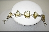 "**MBA #7645   ""Lemon Quartz Sterling Bracelet"