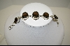 **MBA #7631  Beautiful Smokey Quartz Sterling Bracelet