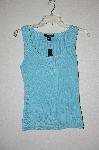 MBADG #55-158  C'est City Blue Knit Tank""