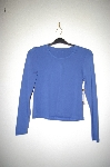 "MBADG #55-151  ""Moving Comfort Blue Stretch Top"""