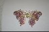 **Pink Crystal ButterFly Pendant