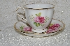 "**MBADG #31-120 ""American Beauty Royal Albert  Tea Cup & Saucer Set"""