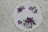 "**MBADG #31-108  ""Royal Albert Purple Rose Saucer"""