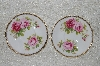 "**MBADG #31-102  ""Set Of 2 American Beauty Royal Albert Saucers"""