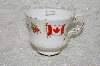 "**MBADG #31-117 ""Vintage The Flag & Maple Leaf Of Canada Tea Cup"""