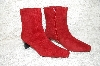 "**MBAB #29-266  ""1980's A.J. Valenci Chianti Suede Boots"""