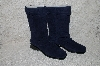 "**MBAB #29-120  ""Markon DK Blue Suede Pull-On Scrunch Boots"""