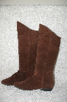 "**MBAB #29-069 ""Savida By Betco Brown Suede Scrunch Boots"""