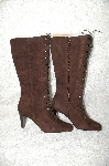 "**MBAB #29-303 ""Moda Brown Suede Lace Up Boots"""